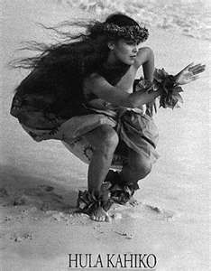 Hula Kahiko. I have always been a fan of this photograph, it's beautiful and it speaks to the style of hula so well.