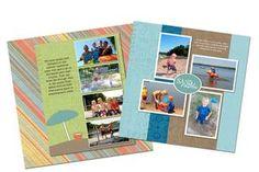 Digital scrapbook layout from Creative Memories