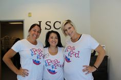 Their pea my pod maternity shirts. Cute Surrogacy shirts from International Surrogacy Center.