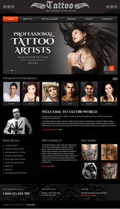 11 Best Tattoo Website Ideas images in 2015 | Website ideas, Tattoo ...