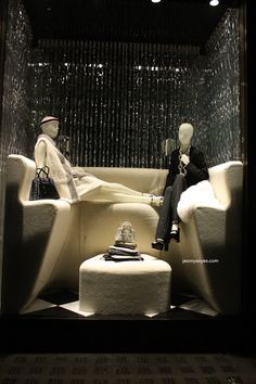 Prada -  Nov. 2012  - London via JY by Jasonyao Yao      Mannequin Madness has transparent mannequins like these for sale
