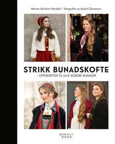 Strikk bunadskofte Knitting, Fabric, Movie Posters, Knits, Style, Education, Fashion, Tejido, Swag