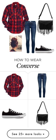""""""""""" by tati-oliveira on Polyvore featuring Aéropostale and Converse"""