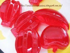 Bala de gelatina - Receitinha fácil