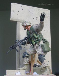 101st Airborne Soldier by Mario Matijasic