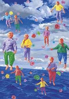 Contemporary Art Chinese Artist Fang Lijun - 2000.1.30 www.interactchina.com