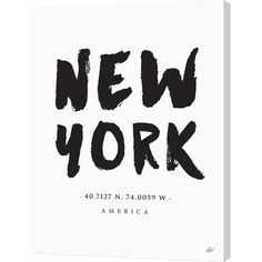Pay homage to your favorite city with this bold canvas print, featuring an eye-catching text design.  Product: Canvas print...
