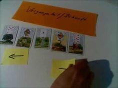 Kartenlegen lernen - wie liest man ein Kartenbild? Erste Schritte Lenorm...