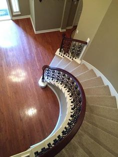 The Stubbs Residence - Venetian Stairs Wrought Iron Stairs, Stair Steps, Mediterranean Style, Staircases, Venetian, Mirror, Classic, Furniture, Home Decor