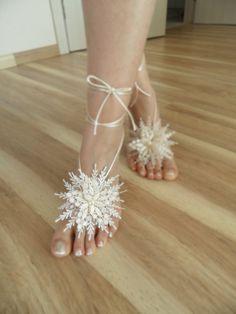 wedding anklet  bridal anklet white flower Beach by WEDDINGHome, $28.00