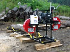 Homesteader portable sawmill HUD-SON HFE21