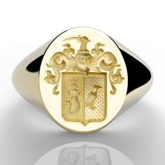 Ring Bear, Wax Seals, Gravure, Signet Ring, Gold Rings, Rings For Men, Monogram, Paris, Iphone