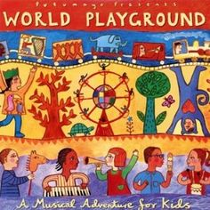 Putumayo Kids' World Playground CD is a delightful collection of child-friendly songs from around the globe. $11.99