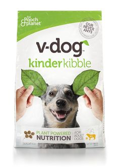 V-Dog Vegan Kibble Dry Dog Food -- Click on the image for additional details. (This is an affiliate link) #DogCare