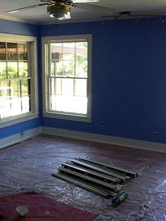 Master Bedroom Benjamin Moore Summer Blue