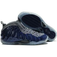 520871ed763 www.anike4u.com  Nike Air Foamposite One Royal Blue Grey Cheap Jordans