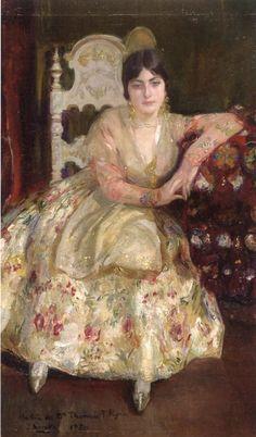 The Athenaeum - Young Woman (Joaquin Sorolla y Bastida - )