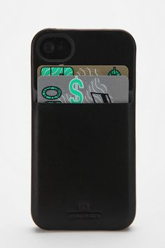 """HEX iPhone 4/4s Wallet Case -- """"the best iphone case i've ever had!"""""""