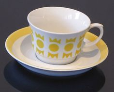 Coffee Cups, Tea Cups, Marimekko, Vintage Ceramic, Scandinavian Style, Bone China, Cup And Saucer, Home Deco, Finland