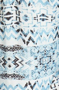 Hinge® Print Woven Top | Nordstrom