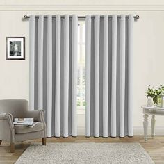 Get Thermal Insulated Blackout Silver Eyelet/Ring Curtains in affordable price at #imperialrooms.  [ Availabale in 6 standard UK sizes.]  +👇 100% #polyesterfabric Quality: 260 G.S.M. Check for more features visit here..