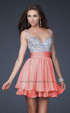 Vegas style homecoming dresses