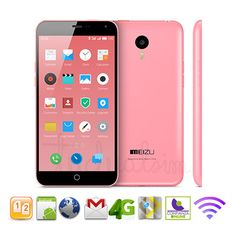 "Meizu m1 note rosa octa core 64bit -lte: 4g - 16gb rom -5.5"" > Móviles meizu > Teléfonos móviles libres | Tudualsim dual sim android | Moviles libres dualsim doble sim"