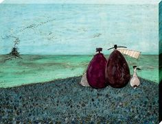 The Same As It Ever Was Canvas Print - Sam Toft