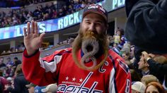Capitals fan shows off greatest facial hair tribute to Alex Ovechkin (Photo) | Puck Daddy - Yahoo Sports