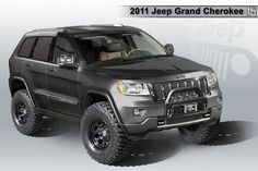 2010 jeep grand cherokee black lifted | Winch mount on jgc? - Jeep Garage - Jeep Forum