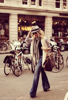 London style - probably still the best way to dress this summer, warm but stylish.