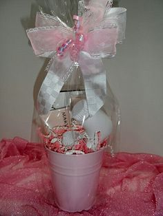 Mary Kay Skinvigorate brush is wrapped with your choice of Mary Kay face cleanser in this cute pail with pretty ribbon http://www.marykay.com/lscott