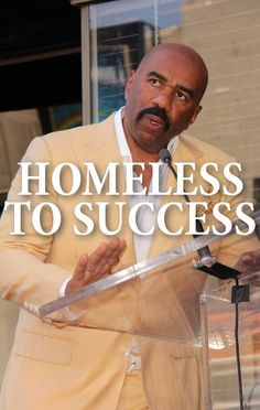 Steve Harvey came by Ellen to talk about his book Act Like A Success, Think Like A Success and his journey from homeless to successful TV host and author.