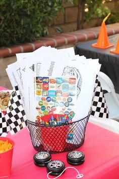 Disney Cars Birthday Party Ideas | Photo 1 of 25 | Catch My Party