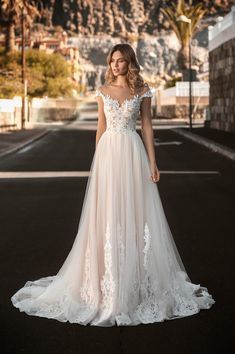 Wedding Dress For Short Women, Cute Wedding Dress, Dream Wedding Dresses, Bridal Dresses, Wedding Gowns, Elegant Wedding, Ivory Lace Wedding Dress, Prom Gowns, Tulle Wedding