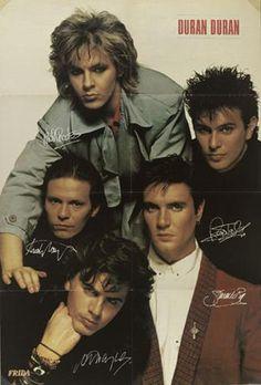 Duran Duran-My Nick's hair is soooo long
