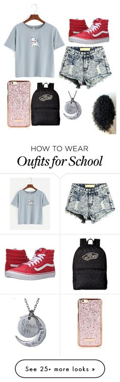 """School outfit "" by isabellmurillo on Polyvore featuring Vans"
