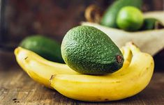 Avocado and banana foot mask. Ideal for dry cracked feet and heels ~ Lifestyle Tips for all