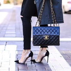 639867ae88 19 Best Chanel Bags & Wallets images | Chanel bags, Chanel handbags ...