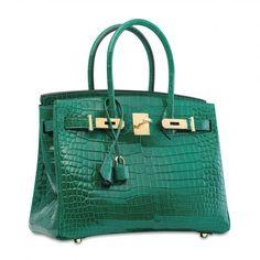 Luxury Genuine Alligator Handbag. Bags 2018TextilesCrocodile HandbagsFashion  BagsWomens FashionBeautiful HandbagsGold HardwareBirkinHermes 9e53dd64c0227