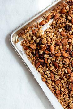 Honey Caraway Granola   Nutrition Stripped #glutenfree #recipe