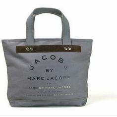 "Mark Jacobs  Tote *Reposh* ?Can shoulder carry or hand carry. Approx. 13"" (measure at the base) x 12"" x 5"".5.5"" drop length.Zip top closure. Zipper with MJ logo.made of a canvas/cotton material with a suded leather trimming.Nickle hardware mark Jacobs Bags Totes"