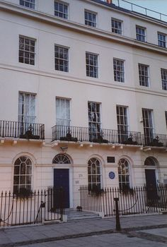 29 Fitzroy Square, where Virginia lived with her brother Adrian after the marriage of their sister Vanessa to Clive Bell in 1907