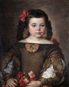 Retrato de ninã, Jose Claudio Antolinez, 1660