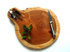 Rustic Reclaimed Wooden Cutting Board, Cheese Platter, Serving Tray - via Richwood Creations on Etsy.com