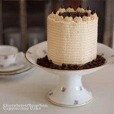 Layer cake de chocolate con bourbon capuccino