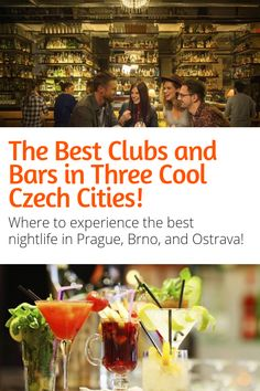 Best Bars and Clubs in Three Awesome Czech Cities - Looking for the best bars in Brno? How about the best clubs in Prague? Or the hottest nightlife in Ostrave? Prague Travel, Travel Europe, Prague Photography, Visit Prague, Amazing Destinations, Travel Destinations, Tourist Board, Best Club, Countries To Visit