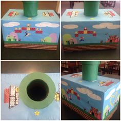 Girl or Boy Valentine Box- Super Mario Brothers