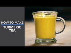 "Turmeric Tea Recipe ""Liquid Gold"" - Dr. Axe"