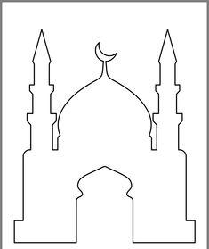 Eid Crafts, Ramadan Crafts, Cutting Activities, Activities For Kids, Diy Eid Decorations, Decoraciones Ramadan, Arabian Nights Party, Mubarak Ramadan, Printable Banner Letters